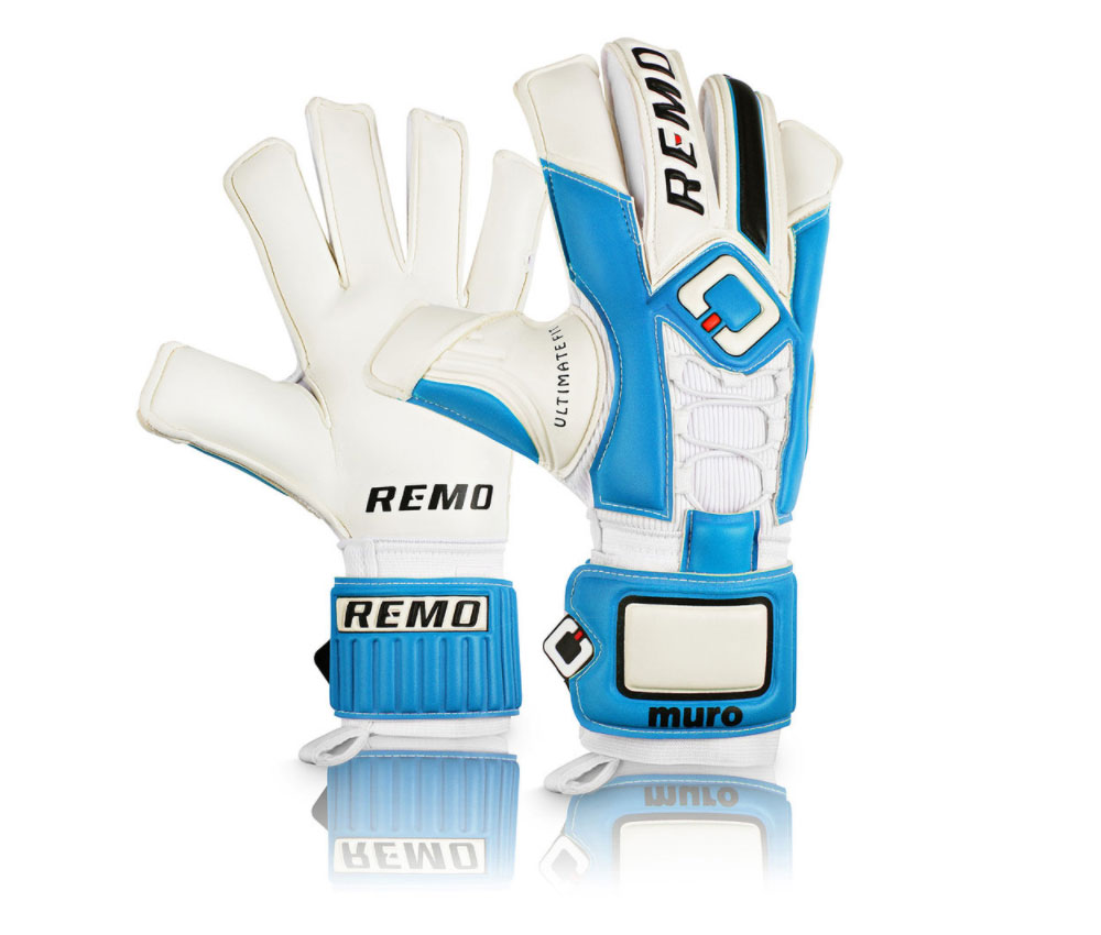 Remo Muro Fussballhandschuhe Blau